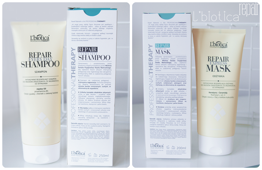 repair everyday shampoo and mask