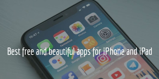 6 Free and beautiful apps for iPhone & iPad 2018