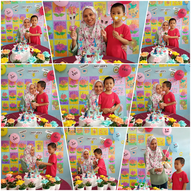 Sambutan Mother's Day di kelas Amin