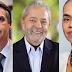 DATAFOLHA: Lula tem ao menos 35%, Marina, entre 13% e 23%, e Bolsonaro, entre 15% e 19%,