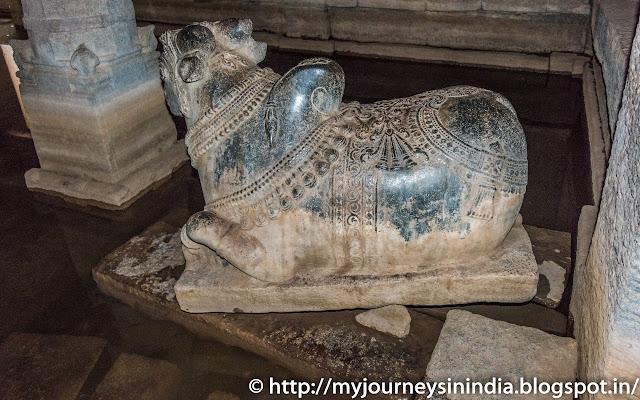 Hampi Prasanna Virupaksha Temple Underground Shiva Temple