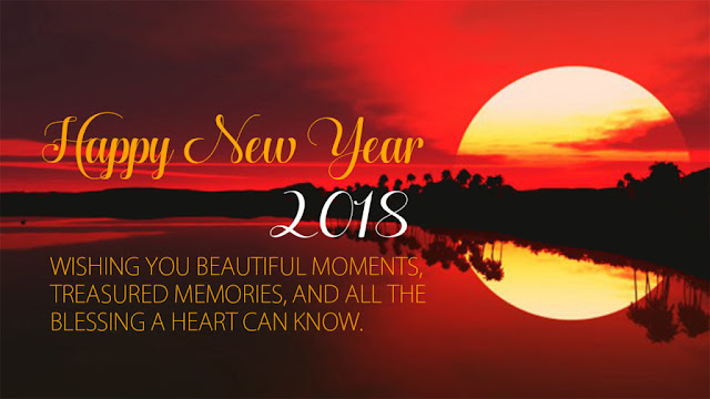 Happy New Year 2018 Facebook, Whatsapp and Twitter Status