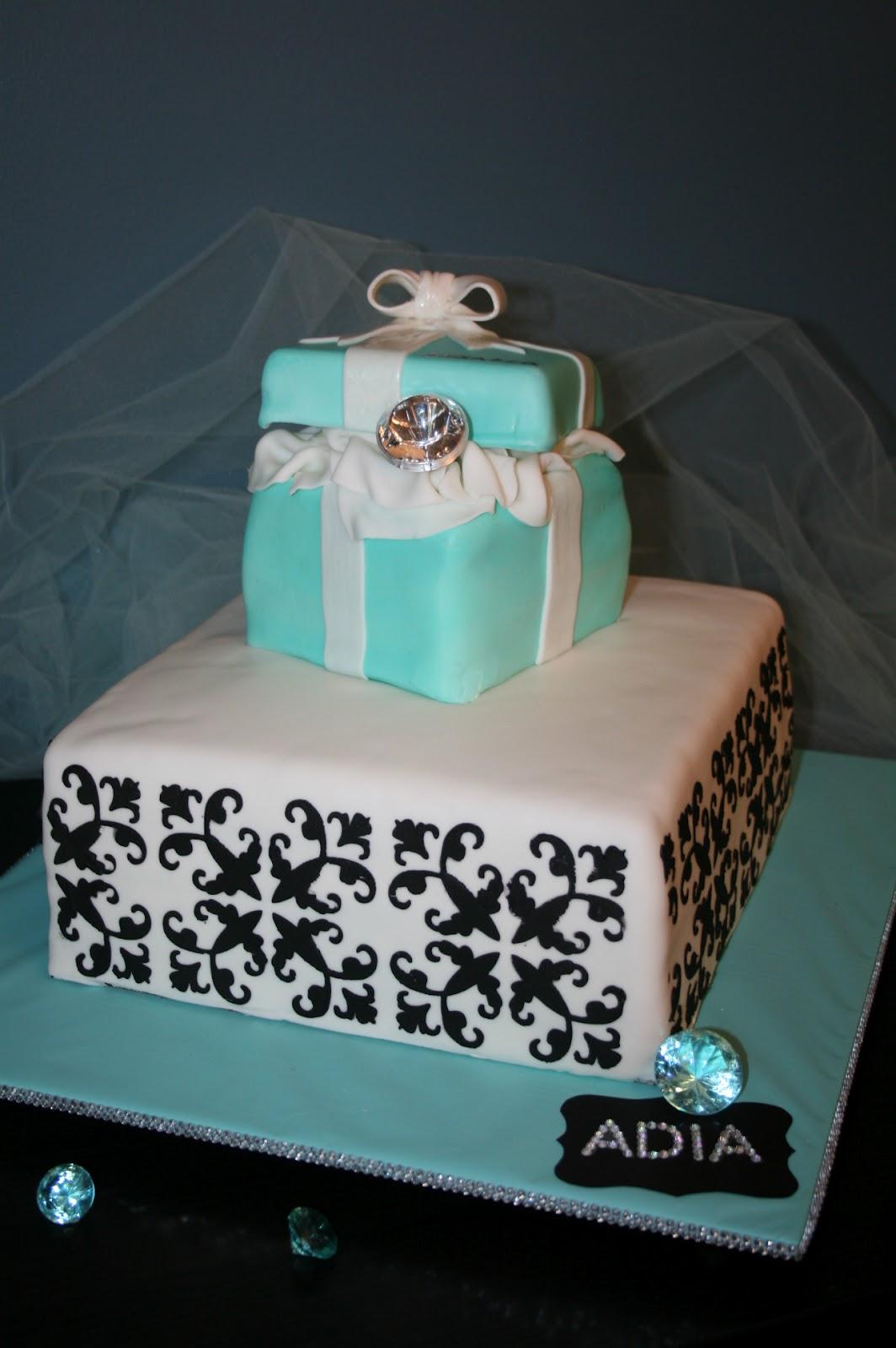 Air Brush Cake Decoration