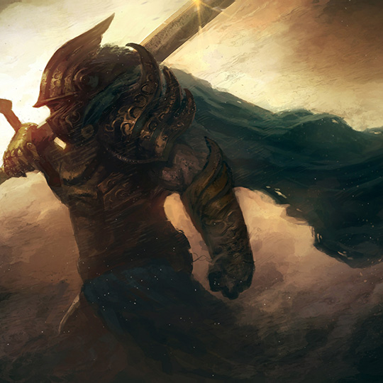 A Lone Knight Wallpaper Engine