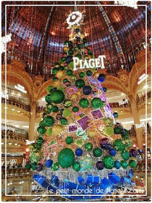 Sapin Piaget de 35 mètres des Galeries Lafayette