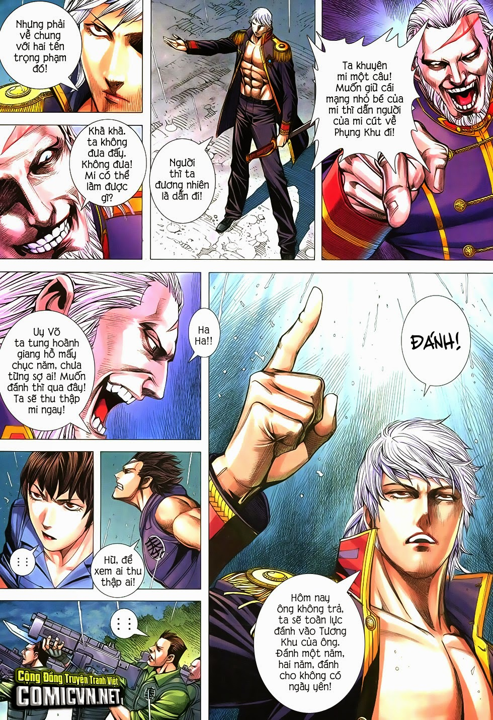 Đại Quân Phiệt chap 21 trang 5