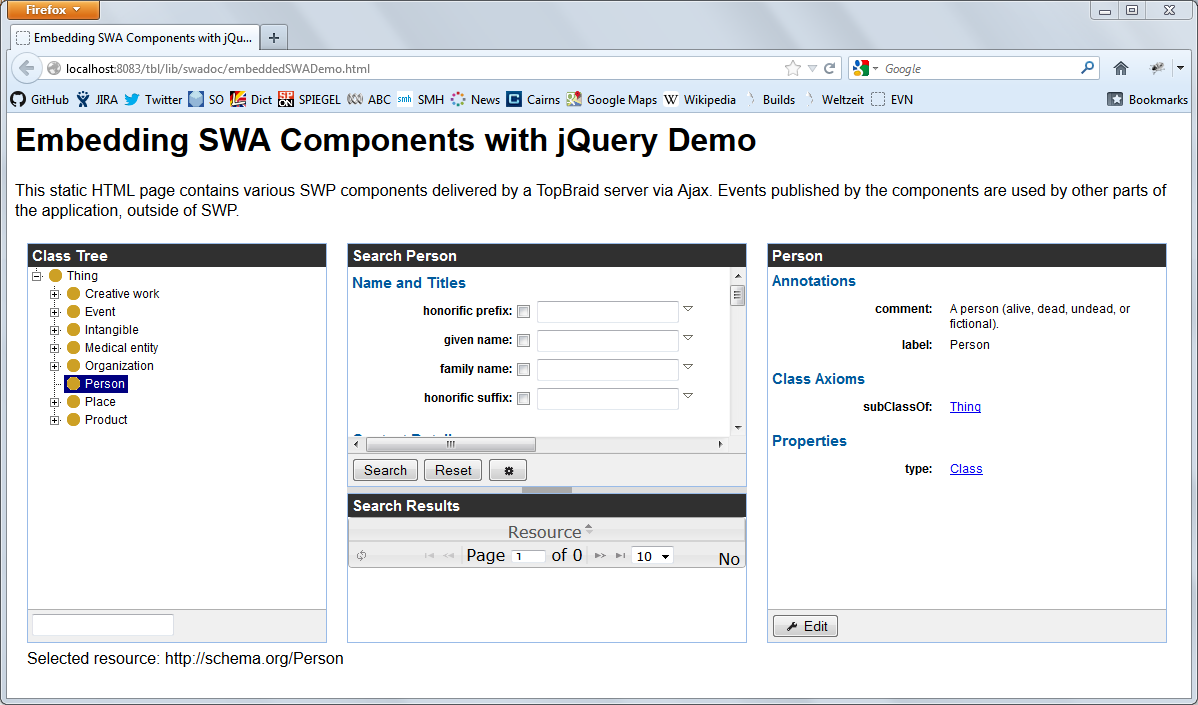Embedding SWP Components into Web Pages with jQuery — TopQuadrant, Inc