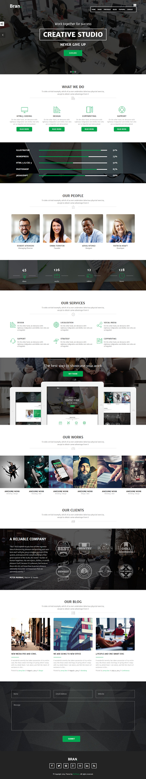 Best Business Website Theme