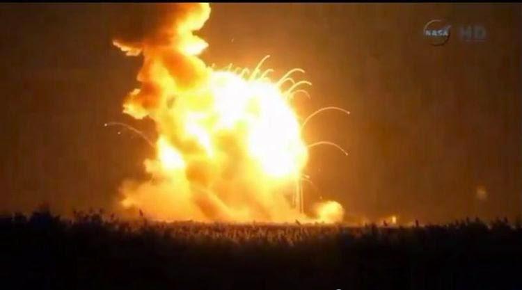 Tên lửa lên Trạm vũ trụ quốc tế ISS phát nổ ngay khi khởi hành