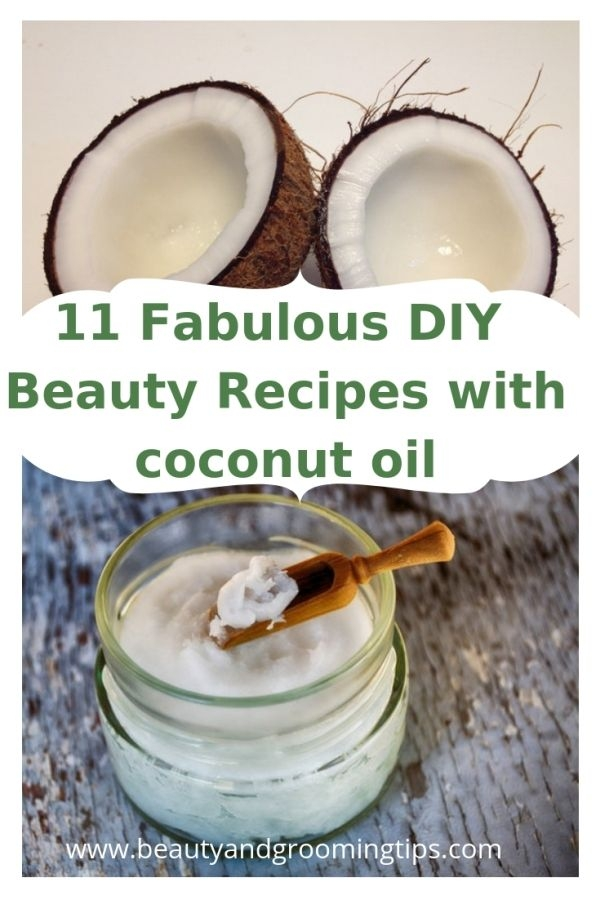 coconut broken & coconut oil
