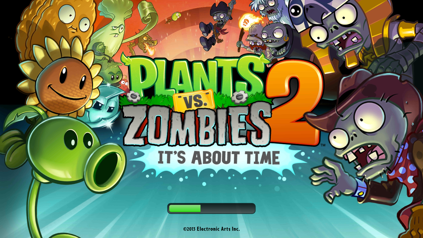 Plants and Zombies