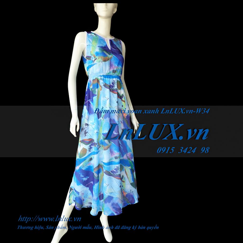 lnlux.vn-dam-maxi-voan-xanh-lnlux-w34