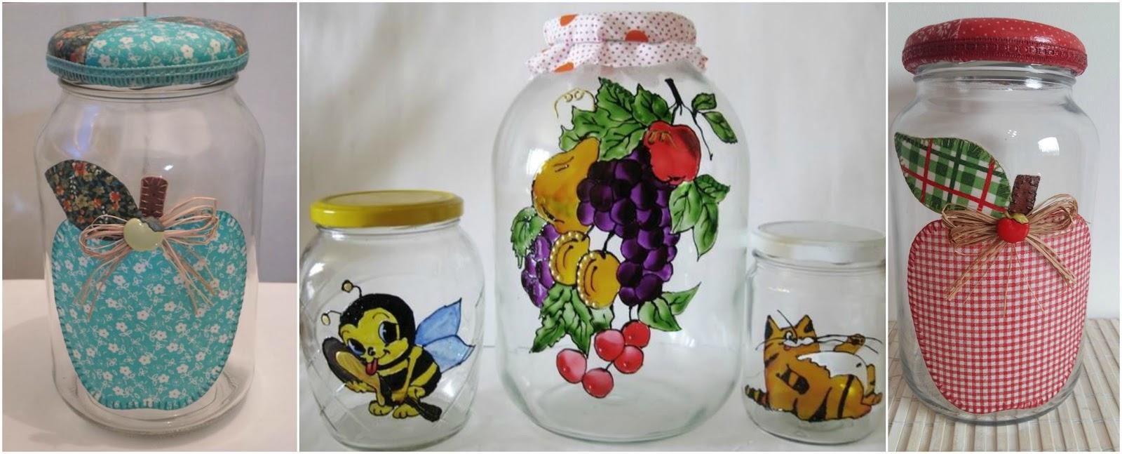 6 ideas para decorar frascos de vidrio y hacer lindas for Ideas con frascos de vidrio