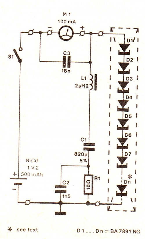 Generate Electricity From Body Heat Circuit Diagram