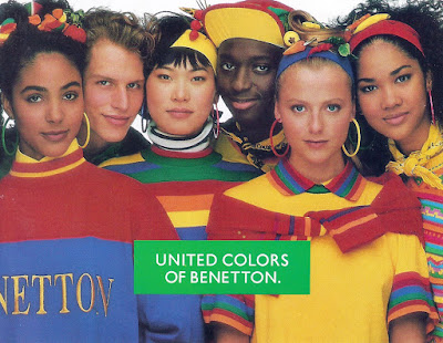 Kokorokoko united colors of benetton for Benetton we are colors