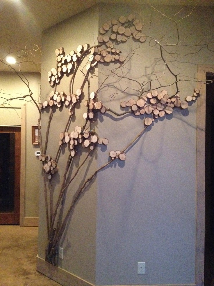 Twig Craft Decoration Creative Art And Craft Ideas