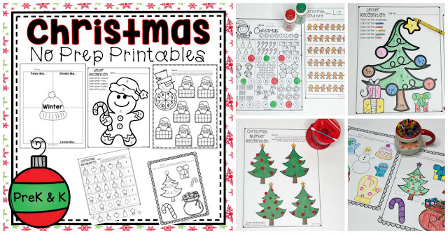 Fun learning activities for preschool December