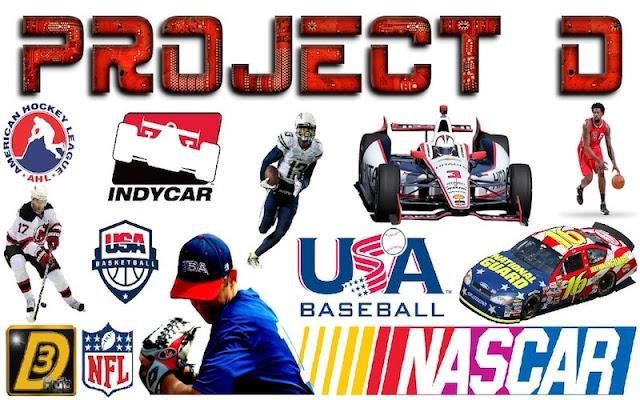 Add-on - Project D - KODI - Baisebol, Basquete, F1, Indy Car, NFL e NHL