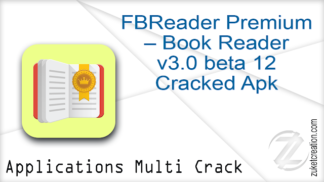 FBReader Premium – Book Reader v3.0 beta 12 Cracked Apk