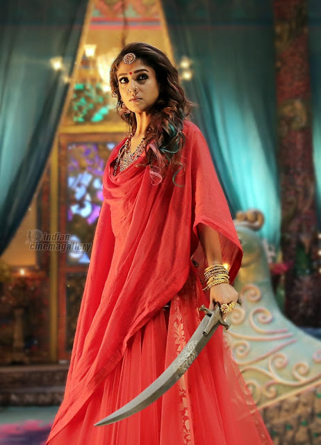 nayan in traditional style with an Sword