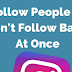 Unfollow Non Followers On Instagram