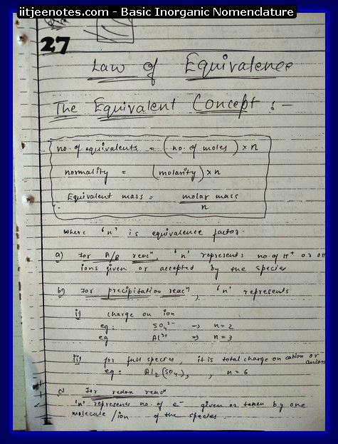 Inorganic Nomenclature Notes 9