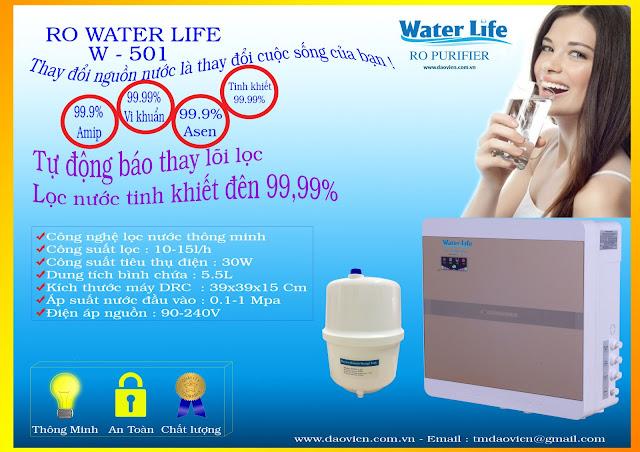máy lọc nước ro tinh khiết thế hệ thông minh