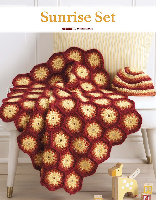 Sunrise Set Crochet Pattern by Sara Leighton of Illuminate Crochet