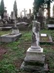 Grabstätte in Florenz auf dem Protestantischen Friedhof