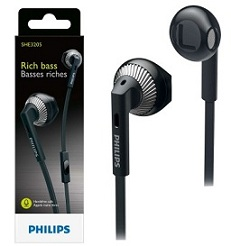 Get Rs.100 Extra off on Philips SHE3200 Wired Headphones for Rs.599 @ Flipkart