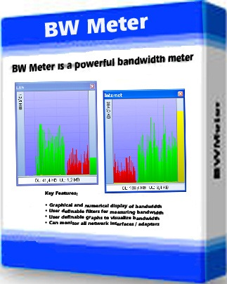 تحميل برنامج معرفة و قياس سرعة الأنترنت Bwmeter 811