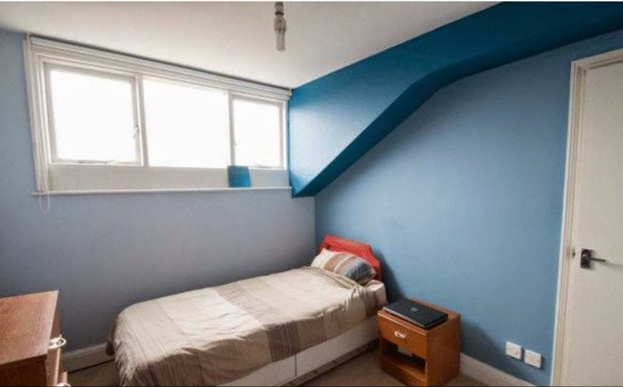 chichester buy to let flat bedroom