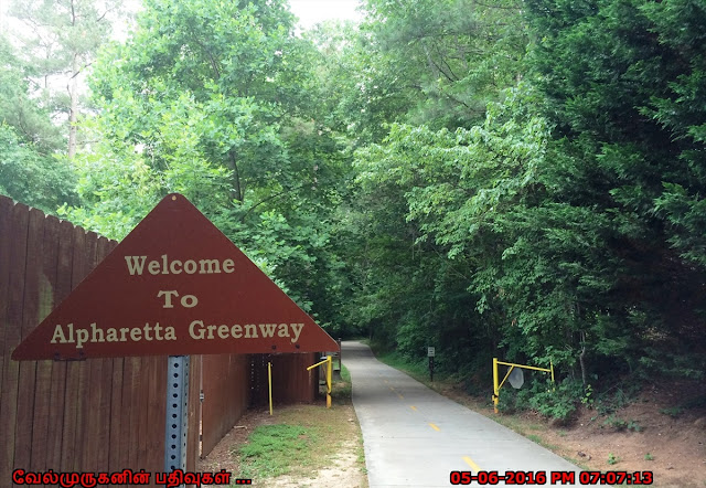 Alpharetta Greeen way Trail