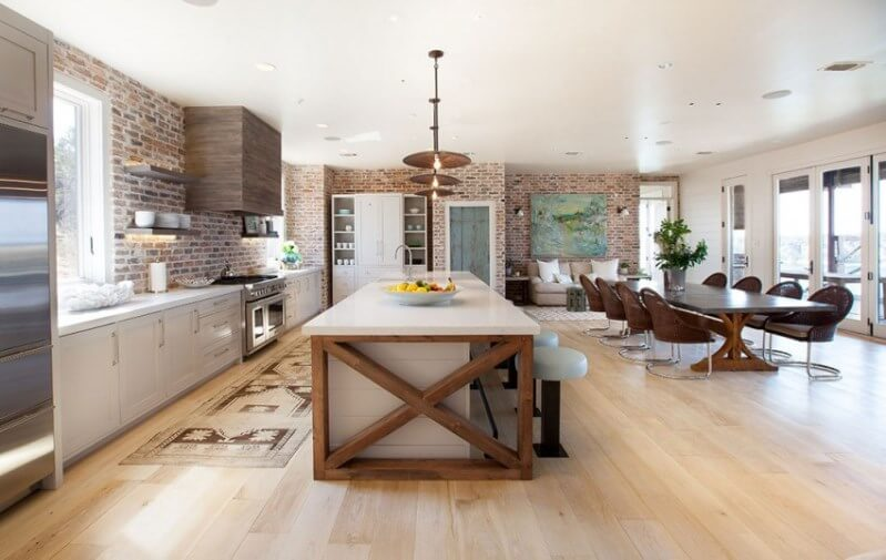 This Cozy Modern Rustic Style Home Interior Design for ...