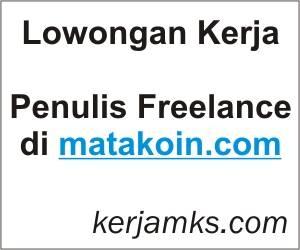 Lowongan Kerja Penulis Freelance di Matakoin