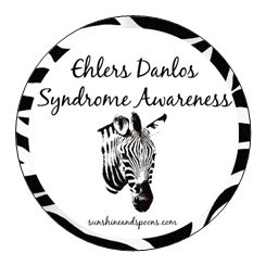 Ehlers Danlos Syndrome EDS Awareness Stickers