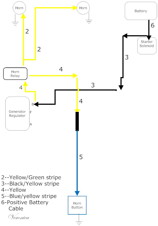 65 ford mustang voltage regulator wiring diagram