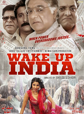 Poster Of Bollywood Movie Wake Up India (2013) 300MB Compressed Small Size Pc Movie Free Download worldfree4u.com