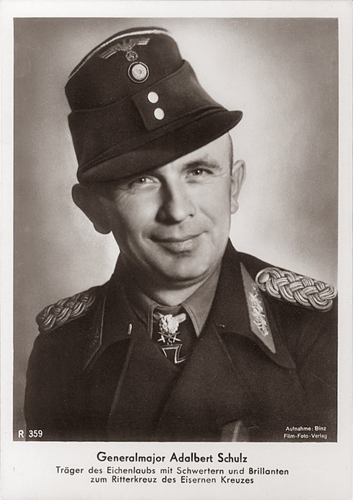 Adelbert Schulz Ritterkreuzträger Knight Cross Holder Postcard