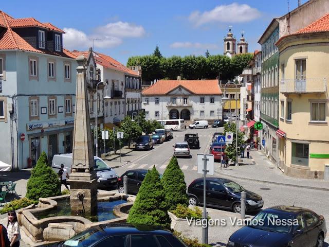Seia, cidade da encosta poente da Serra da Estrela famosa pela produção do Queijo da Serra e os vinhos do Dão