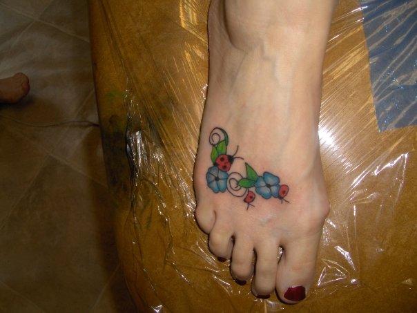 TATTOO SYMBOLISM: Ladybug Symbolism