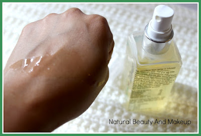The Nature's Co Lemongrass Foot Spray Review on the blog Natural Beauty And Makeup