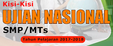 Download Kisi-kisi Ujian Nasiomal (UN) SMP/MTs 2017-2018