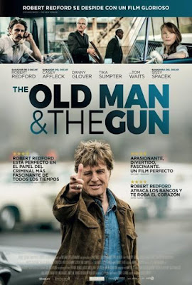 The Old Man And The Gun 2018 DVD R1 NTSC Latino