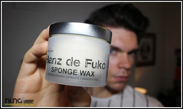 Review of Hanz de Fuko's Sponge Wax - a styling product