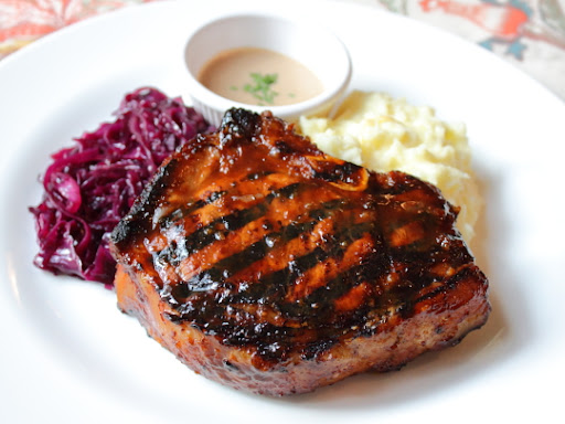 Mustards Grill's Mongolian Pork Chop – Video No. 700 Was All Me