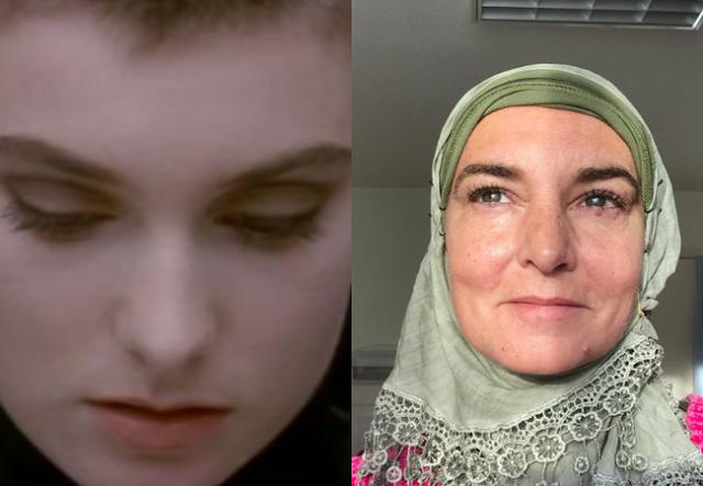 Masya Allah! Penyanyi Sinead O`Connor Kini Masuk Islam, Begini Penampilannya Sekarang