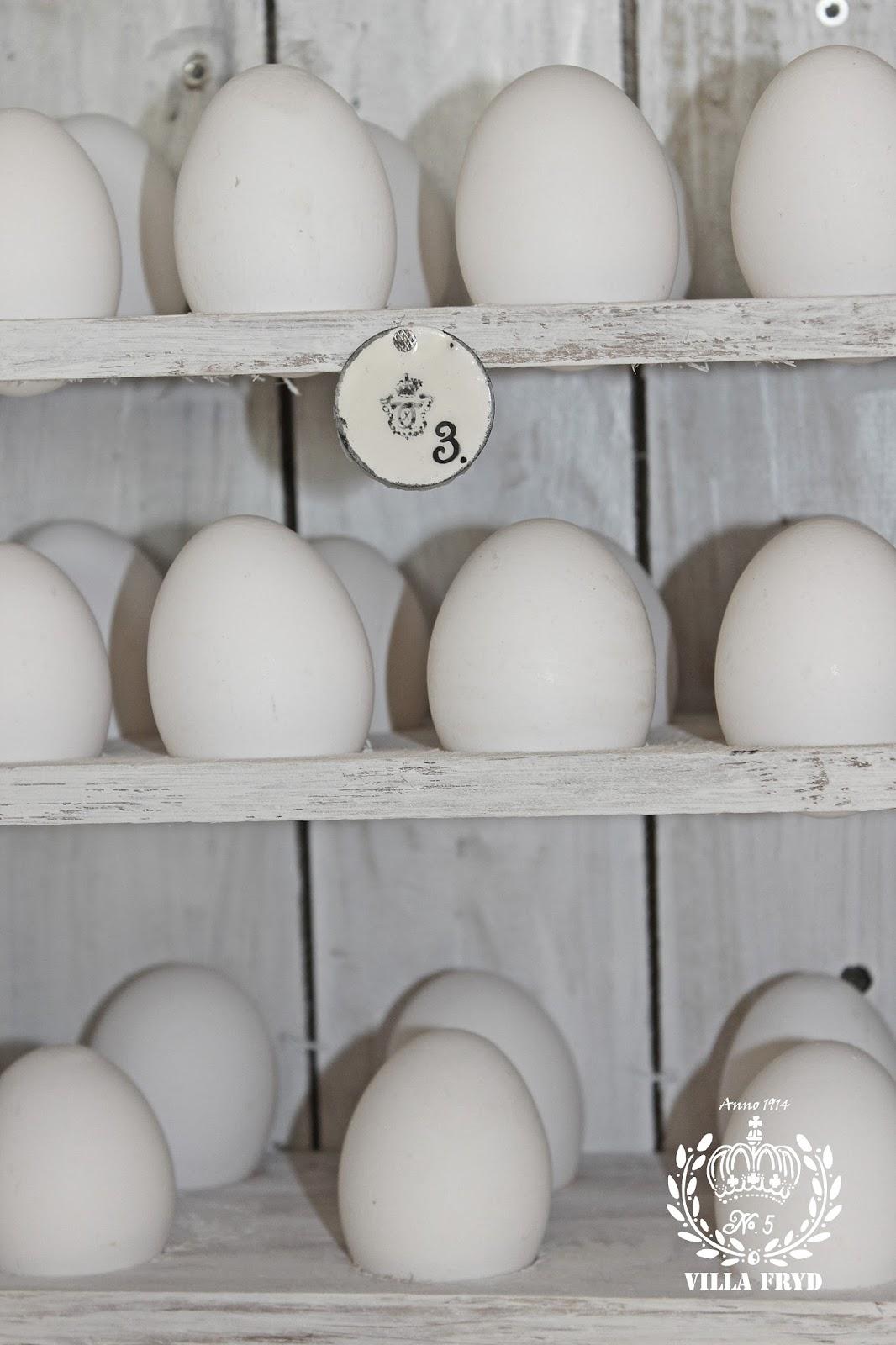 Hos villa fryd: Æggeskab