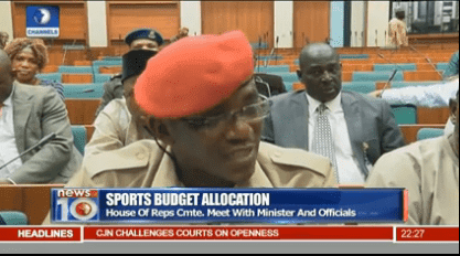 "How Sports Minister Dalung Embarrassed Himself: ""The funds spended were properly spended"""