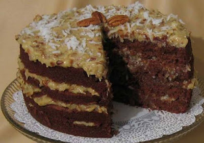 Fort Lauderdale Personal Chef - German Chocolate Cake Recipe